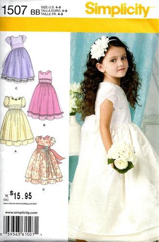 SEWING PATTERN / Make Girls Fancy Dress -First Communion -Flower ...