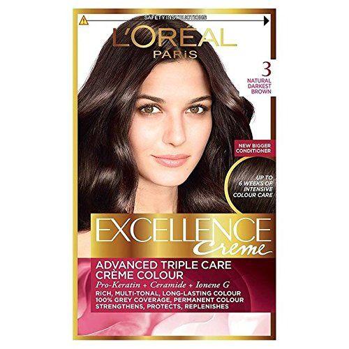 L Oreal Paris Casting Creme Gloss 300 Dark Brown Colour For Online