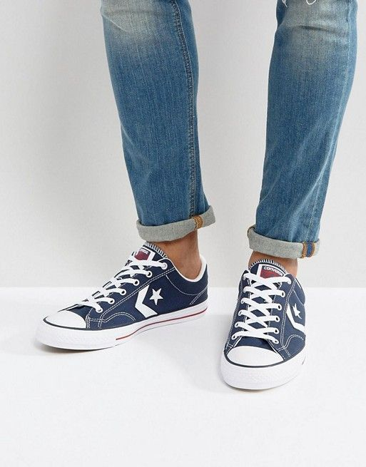 converse star player denim