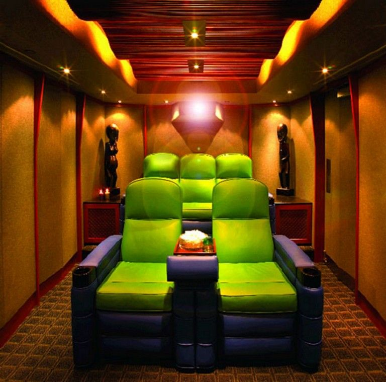 50 Comfy Small Movie Room Design Ideas For Your Happiness Family Home Theater Room Design Home Cinema Room Home Theater Rooms