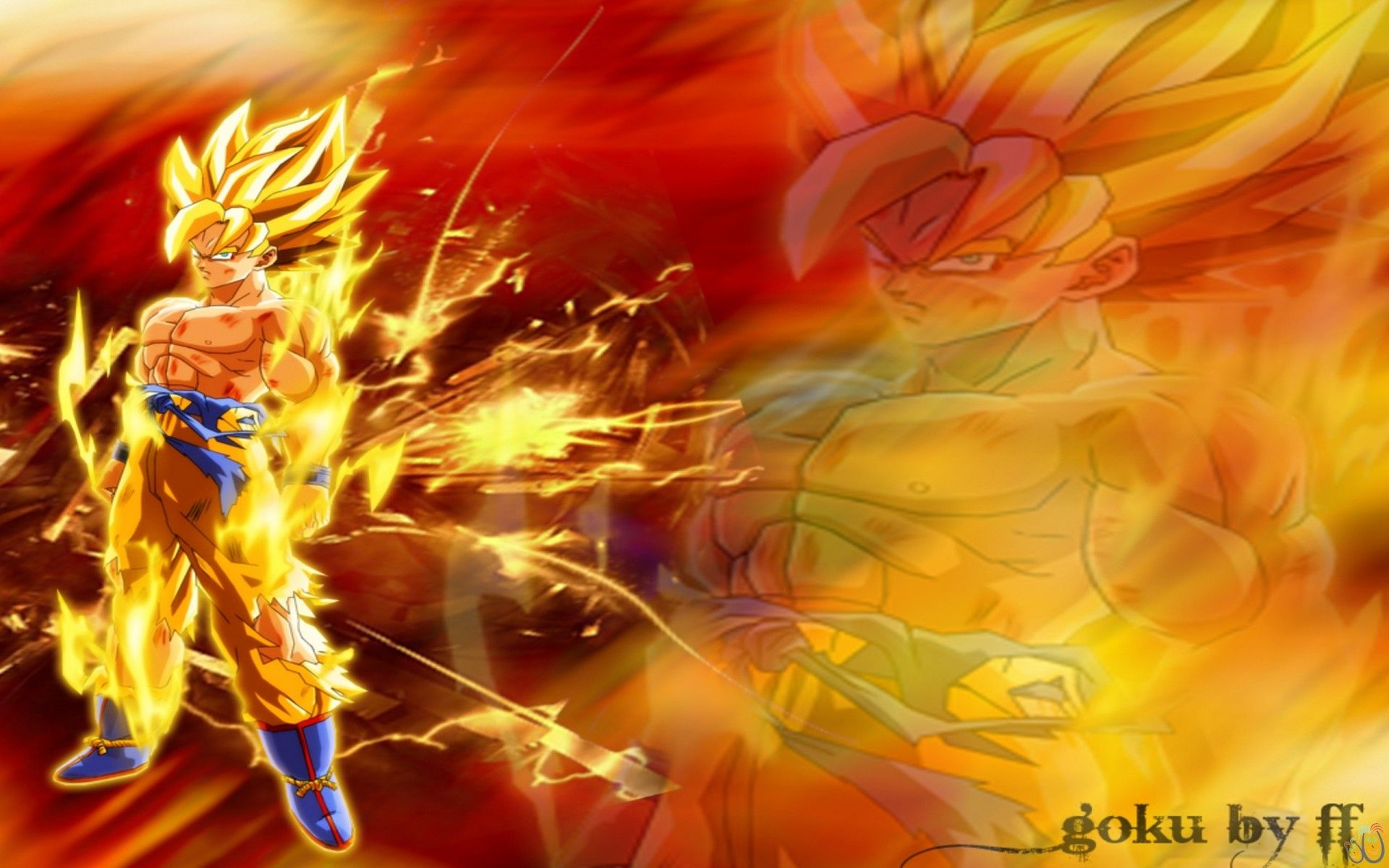 1920x1200 Cool Dragon Ball Z Goku Wallpapers Dragon Ball Z