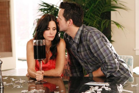 Ignore the title it doesn't do this hilarious show justice at all! Cougar Town.