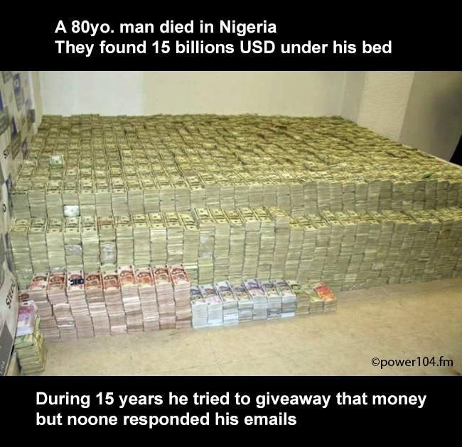 A USD billionaire died in Nigeria http://ift.tt/2ft8a2y #lol #funny #rofl #memes #lmao #hilarious #cute