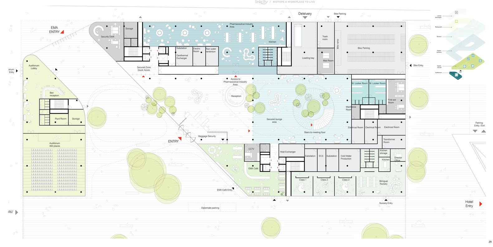 Gallery Of Biotope Office Building Henning Larsen Keurk Architecture 47 In 2020 Office Building Office Building Plans Layout Architecture