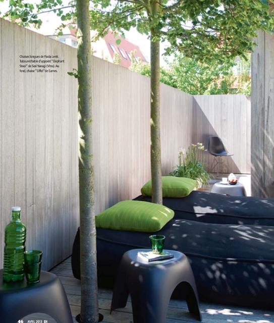 Terrasse design a Nieuport Déco Idées via Nat et nature | Garden ...