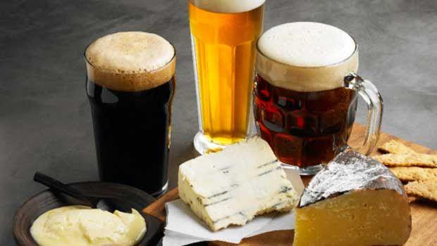 Uma combinação inusitada: queijos e cervejas