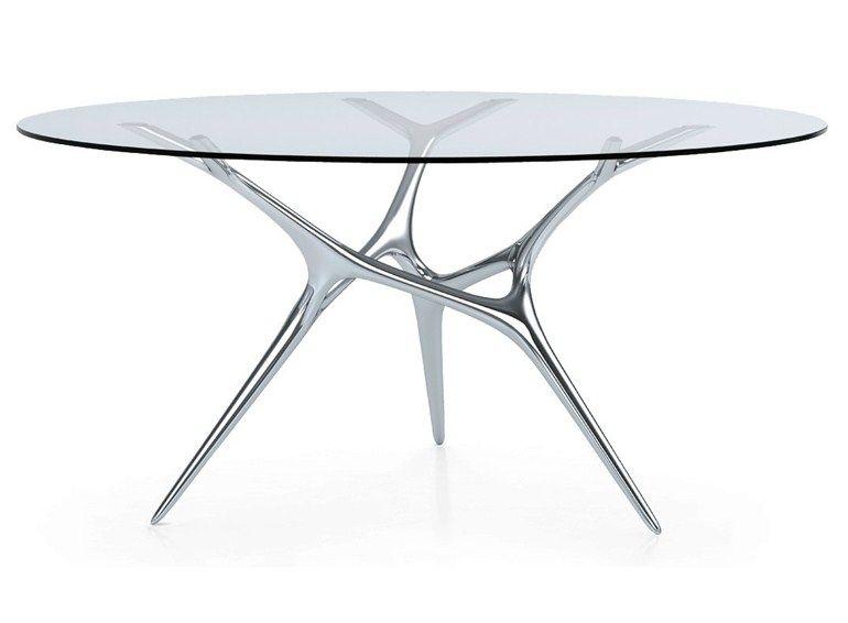 Best Tavolo Vetro Rotondo Contemporary - Amazing House Design ...