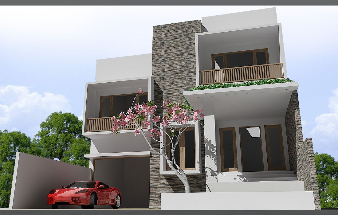 Modern house design minimalist style modern home design for Minimalist home designs philippines