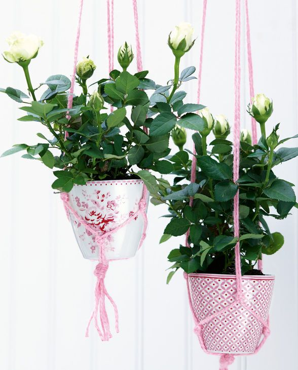 Flower Decoration with Green Gate Latte Cups