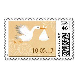 Special Delivery Stork Postage http://www.zazzle.com/special_delivery_stork_postage-172345217842848015?rf=238194283948490074&tc=pin #stork #banner #bundleofjoy #blessing #pregnancy #hallmark #baby #delivery #babyshower #swirls #birth #shower #date #bird #bundle #postage