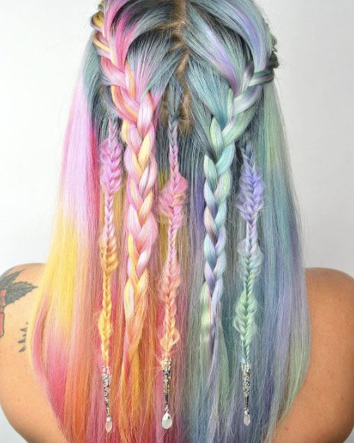 Festival Hairstyles Entrancing 52 Festival Hairstyles That Look Amazing  Watercolor Dreamcatcher