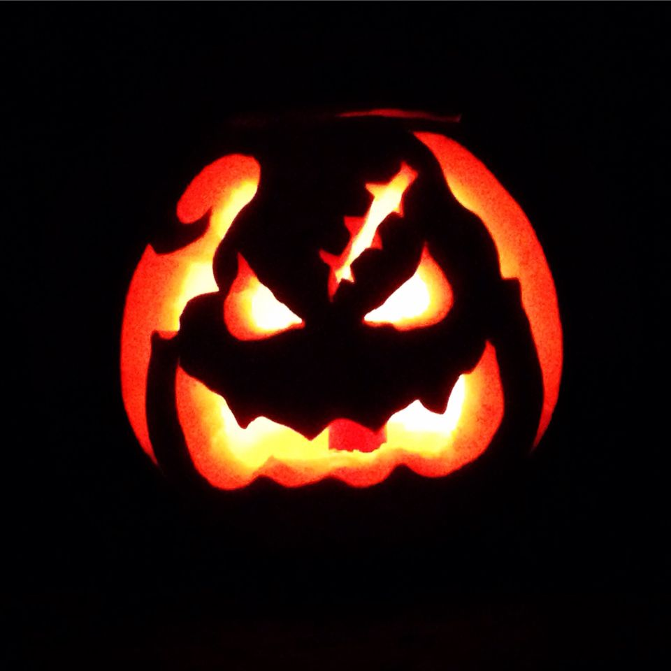 Oogie Boogie pumpkin carving from Nightmare Before Christmas. I AM ...