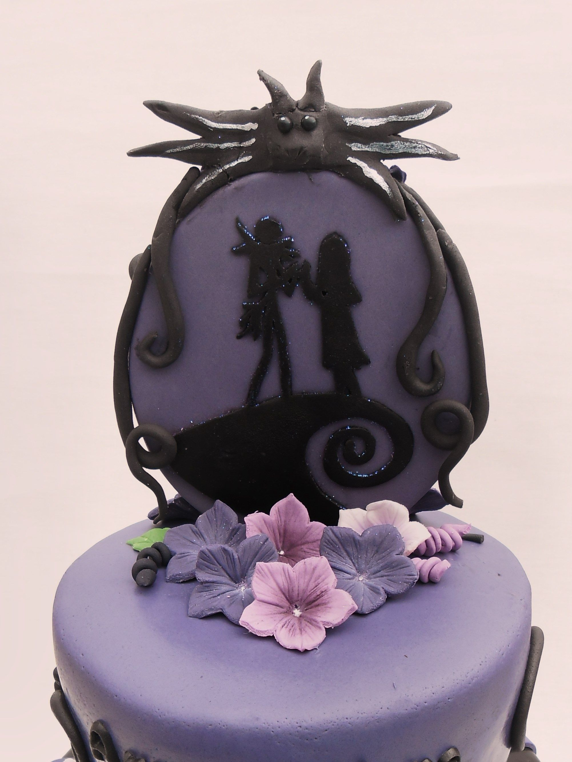 Nightmare Before Christmas Wedding Cake nightmare before christmas ...