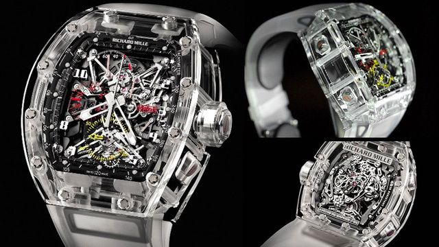 This Watch S See Through Sapphire Housing Will Cost You 1 65 Million Womens Watches Luxury Popular Womens Watches Richard Mille Watches