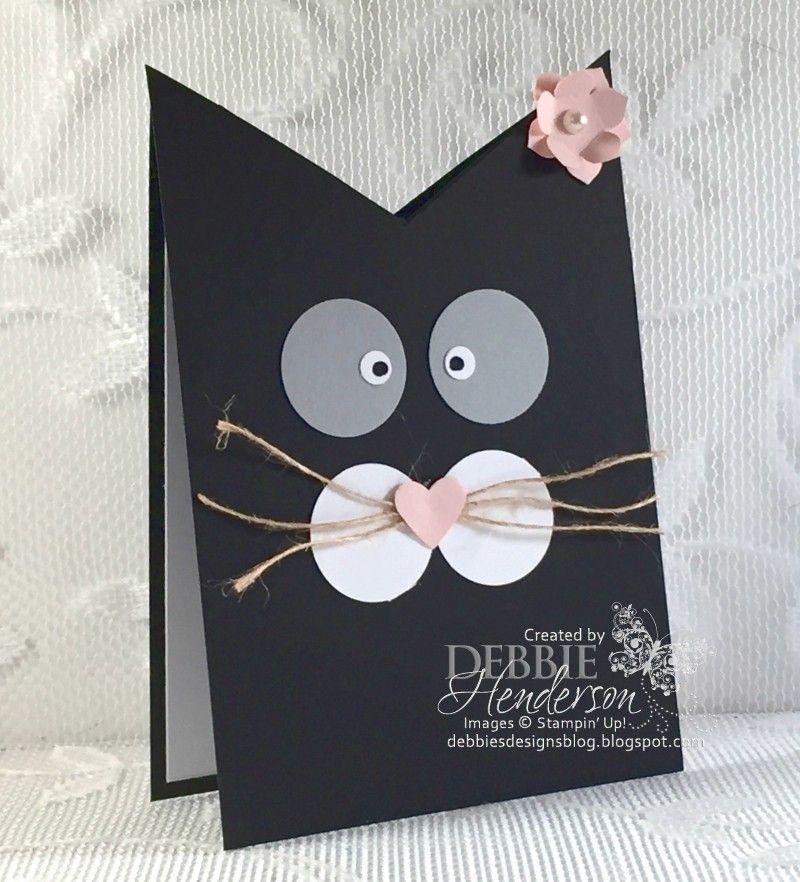 Сделать на день рождения открытку кота своими руками девушке, картинки двумя