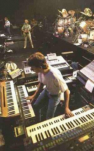 Tony Banks Genesis Keyboardist Portraits Genesis Band