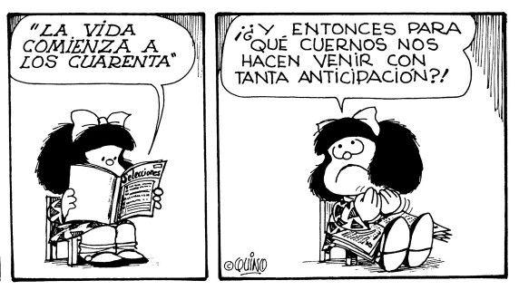 Los 40 Mafalda Enamorada Mafalda Quino Y Mafalda Frases