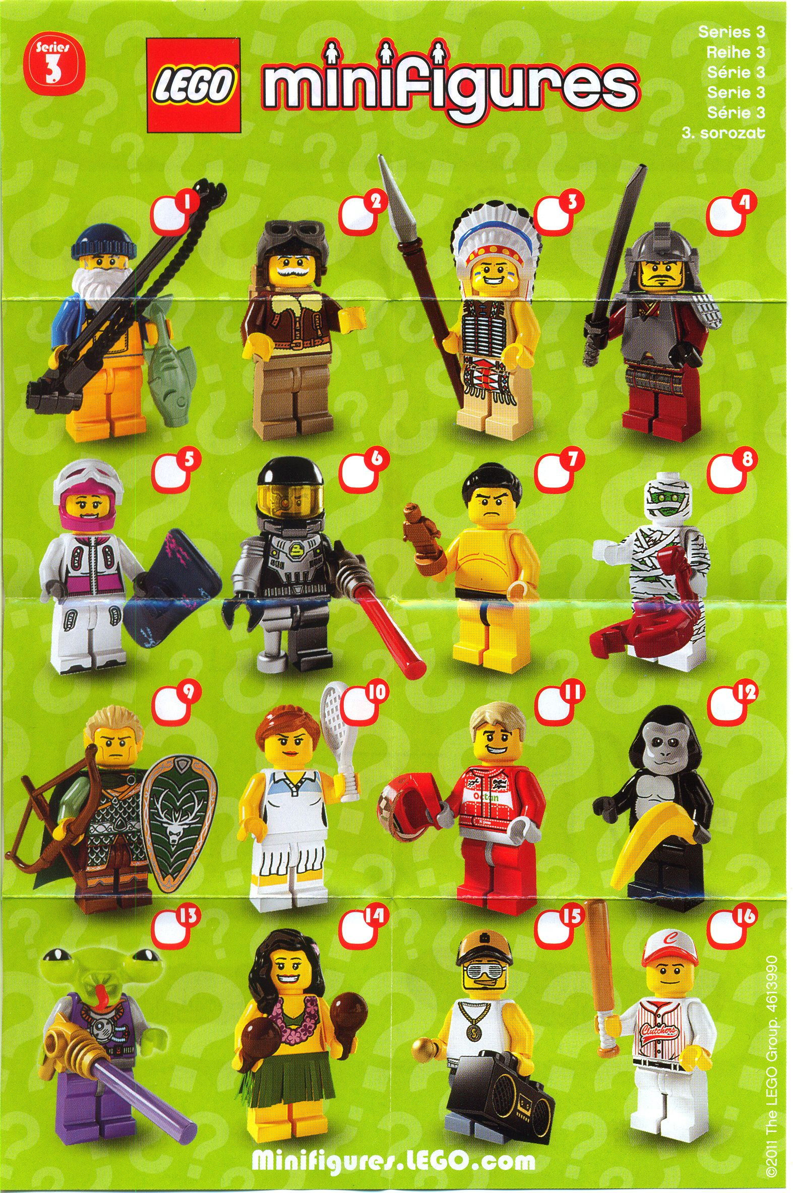lego minifigures series 3 collection my legos pinterest lego legos and lego minifigs. Black Bedroom Furniture Sets. Home Design Ideas