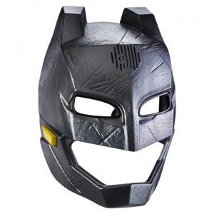 Become just like Batman with the Batman v Superman Batman Voice Changer Helmet. The helmet features movie-realistic styling, but it's really more of a mask than a helmet. -See the full review on ttpm.com
