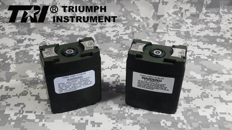 TRI 12.6V Battery For Thales Harris TRI 5W/&10W PRC152 PRC148 RADIO
