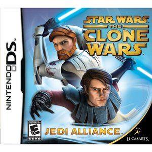 Star Wars The Clone Wars Jedi Alliance Nintendo Ds Walmart Com Star Wars Clone Wars Clone Wars Star Wars
