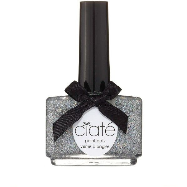 Ciate Paint Pots, Glitter ($15) ❤ liked on Polyvore featuring beauty products, nail care, nail polish, confetti, ciate nail polish, shiny nail polish, ciaté and formaldehyde free nail polish