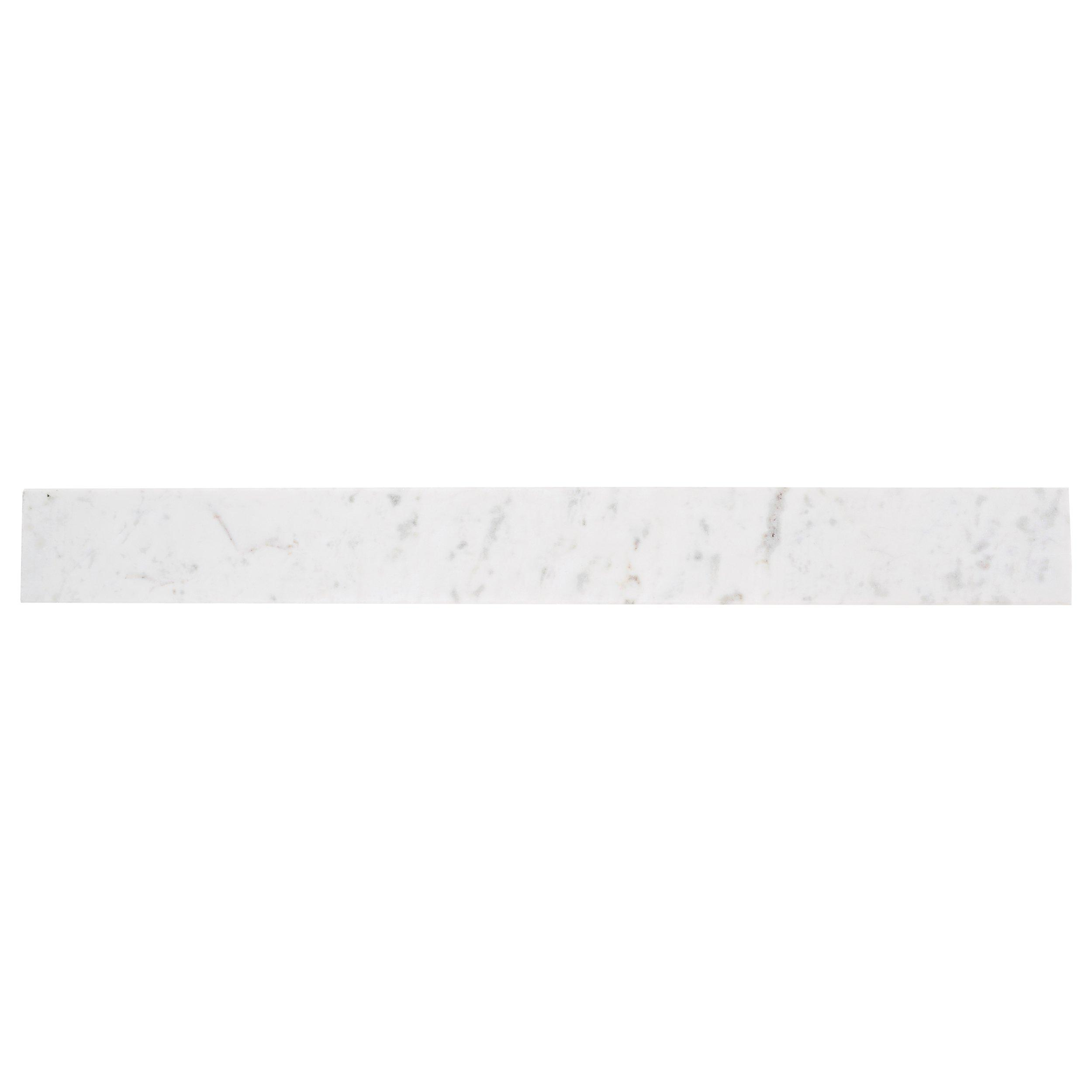 Carrara White Marble Threshold Floor Decor In 2020 Marble Threshold Carrara Tile Shower White Marble