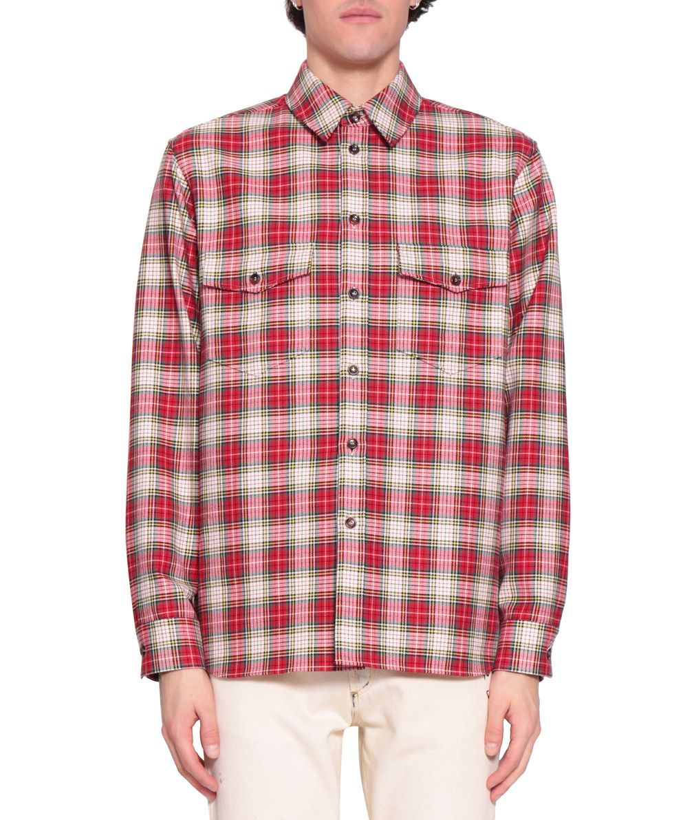 GUCCI WOOL EMBROIDERED SHIRT. #gucci #cloth # | Gucci Men ...
