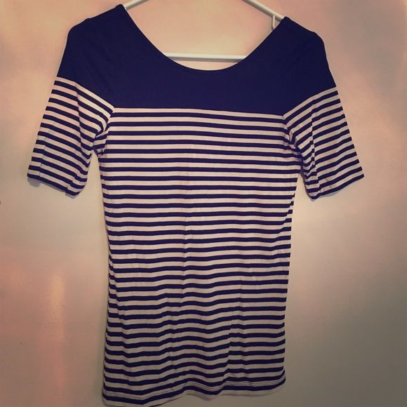 Striped Forever 21 Top Striped top from forever 21. Soft stretchy fabric Forever 21 Tops Tees - Short Sleeve