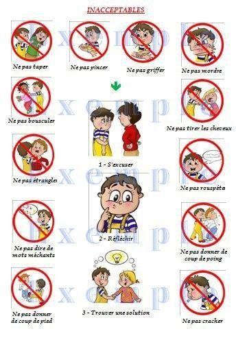Les r gles de vie 4 maternelle pinterest regle de - Les regles de la maison a imprimer ...