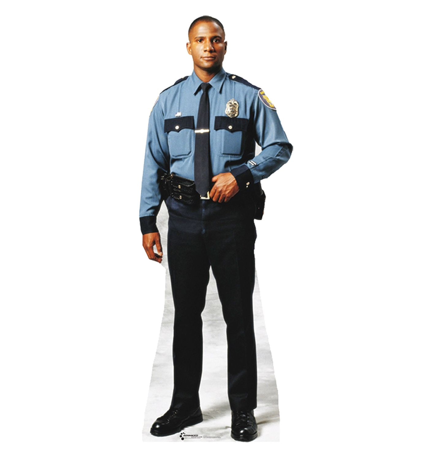 Policeman Merica Stand Up Modern