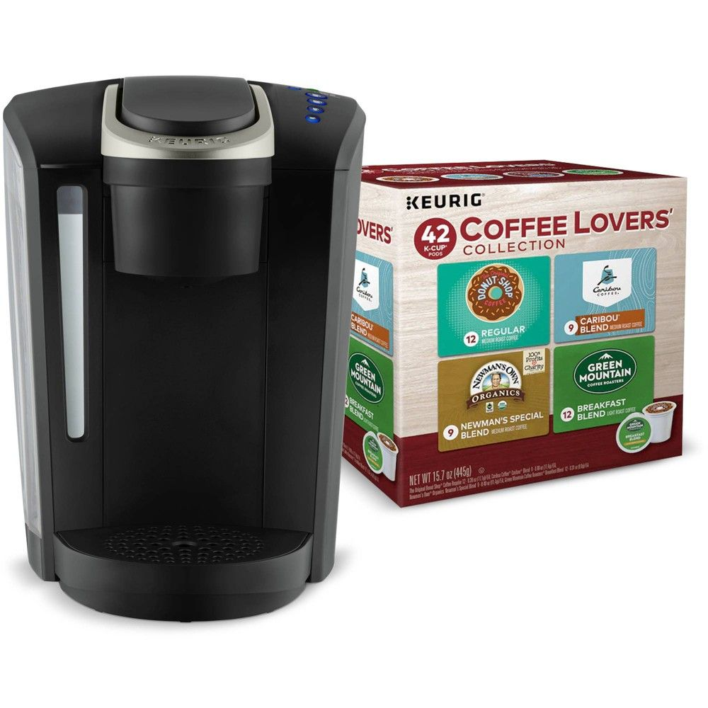 Keurig K Select Single Serve Coffee Maker With 42 Ct Coffee Lovers