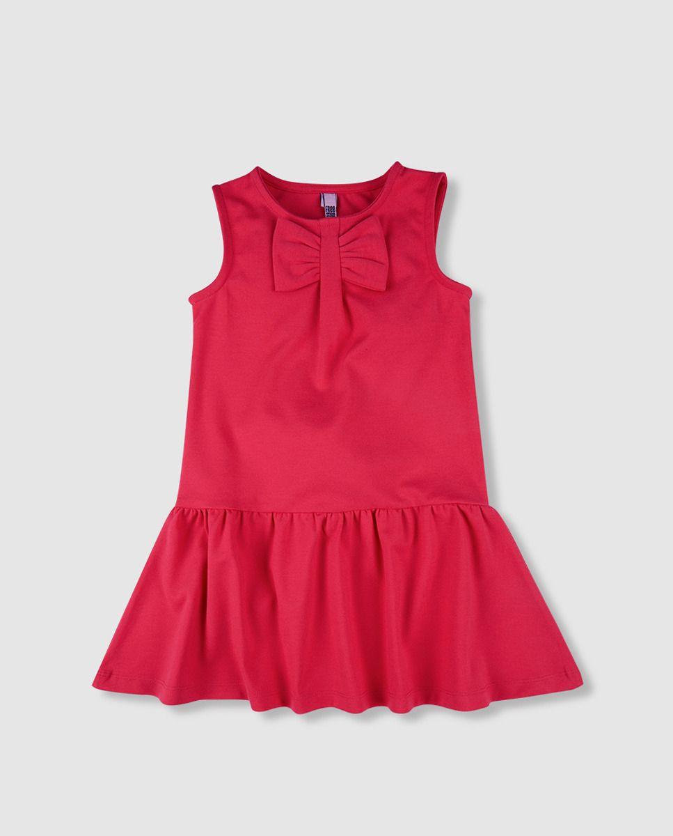 34161feeec9d Vestido de punto roma de niña Freestyle en fucsia · Freestyle · Moda ...