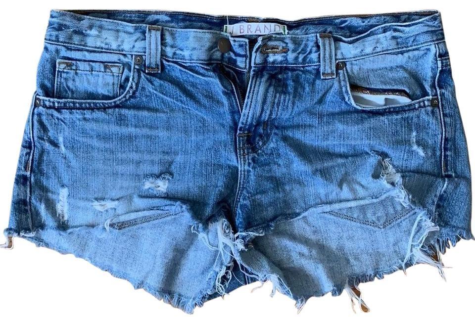 J Brand   Denim Light Blue 10460266 Shorts Size 4 (S, 27) #lightblueshorts