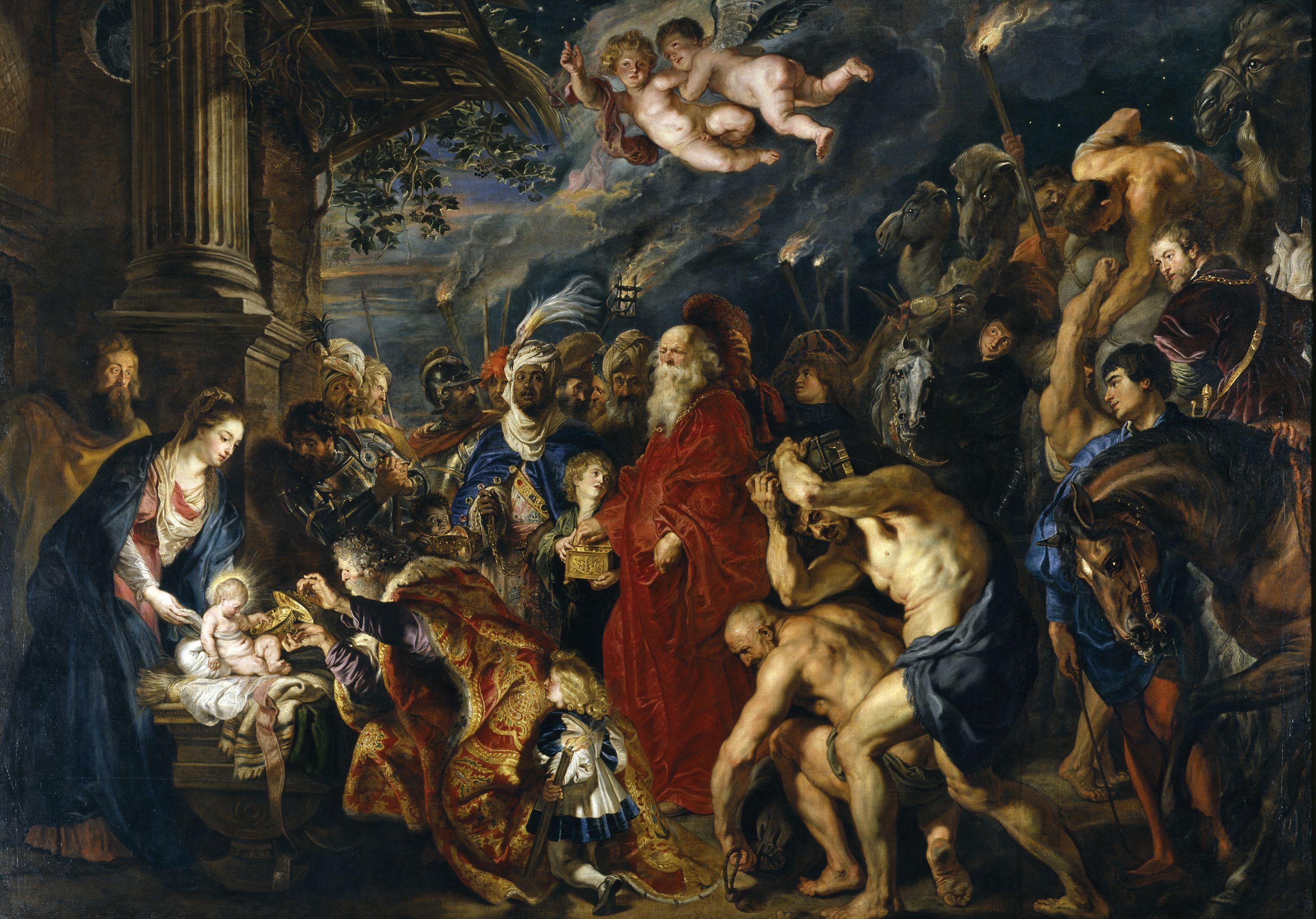 La Adoración De Los Reyes Magos Rubens Prado Wikipedia La Enciclopedia Libre Pedro Pablo Rubens Arte Barroco Peter Paul Rubens
