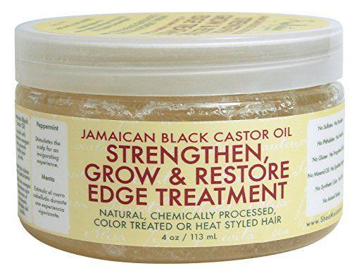 Shea Moisture Jamaican Black Castor Oil Strengthen, Grow & Restore Edge Treatment 4oz Shea Moisture http://www.amazon.com/dp/B00MXD8ZTU/ref=cm_sw_r_pi_dp_ok6nvb16DD9BR