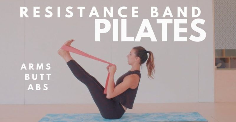 Resistance Band Pilates Workout | Arms, Butt, Abs | 15 Minute Routine | Lottie Murphy - FIT LIFE VIDEOS #pilatesworkoutroutine