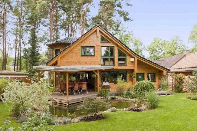 Blockhaus Oberhavel Holzhaus Blockhaus Holzhauser Fullwood Wohnblockhaus Haus Holzhaus Fertighaus Haus Bauen
