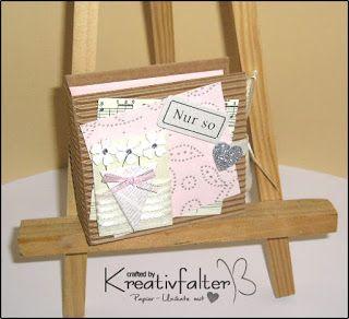 Kreativfalter / Papier - Unikate mit Herz: Teebeutelbuch