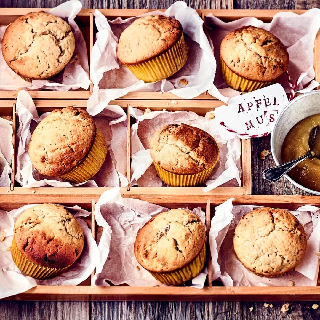 Apfelmusmuffins Rezept Rezepte Lebensmittel Essen Und Backen Ohne Zucker