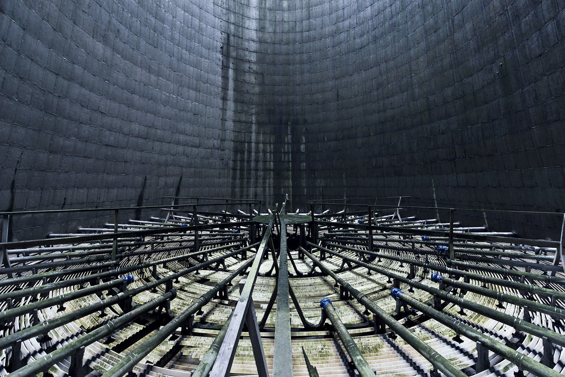 Wanna Feel Small Step Into An Abandoned Cooling Tower Wired