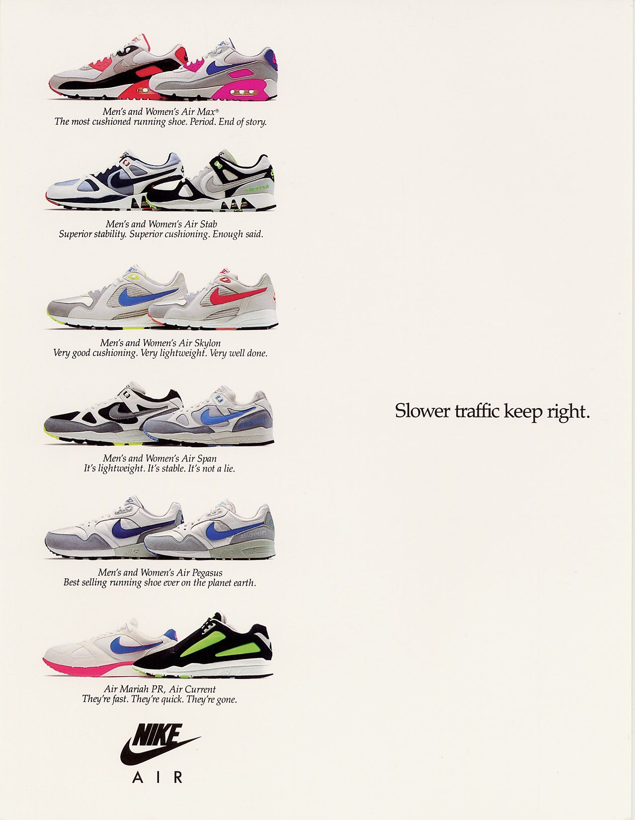 Advertisement Nike Runner1990Vintage Runner1990Vintage Air Nike Advert Advert Air mN8nv0Ow