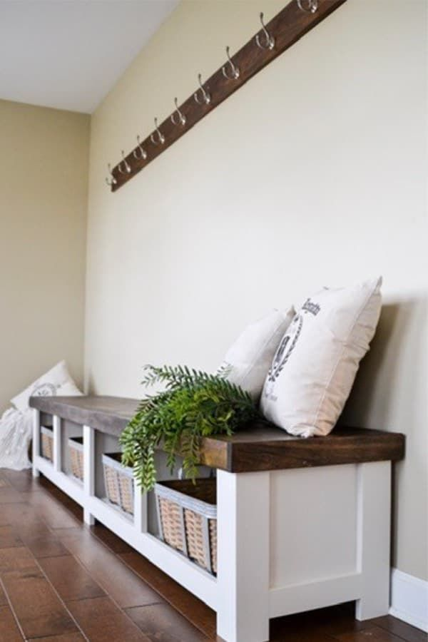 33 Best DIY Bench Ideas For Extra Seating & Storage