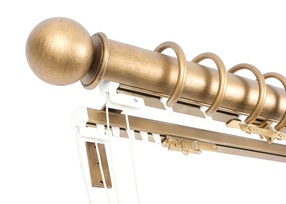 Orion Italian Collection Traversing Rods Drapery Hardware