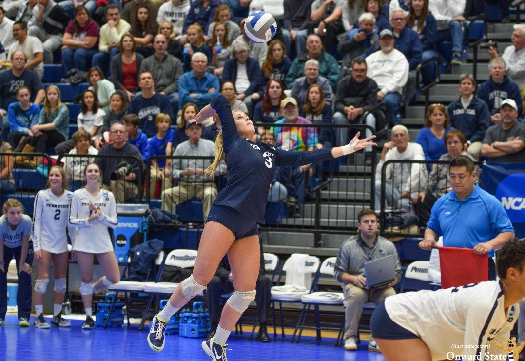 Kendall White Cementing Herself Among Penn State Volleyball S All Time Greats Kendall White Penn State Volleyball Penn State Athletics