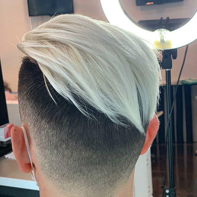 Pin Auf Sliver White Hair