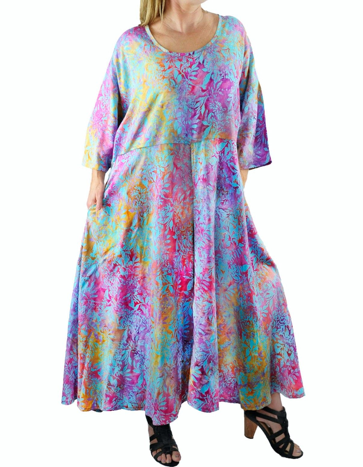 Women S Plus Size Maxi Dress Dancing Sage Delia With Pockets L Xl 0x 1x 2x 3x 4x 5x 6x Plus Size Maxi Dresses Dresses Delias Dresses [ 1550 x 1206 Pixel ]