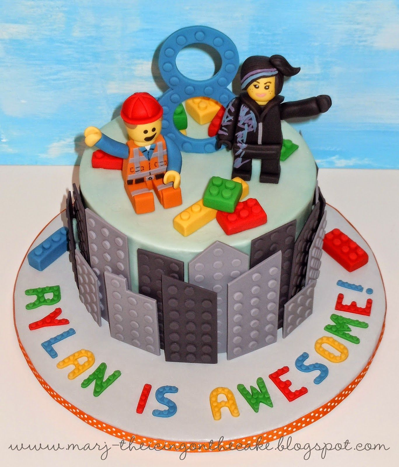 The Icing On Cake Lego Movie I Like Buildings Nice Off Set Gives Dimension