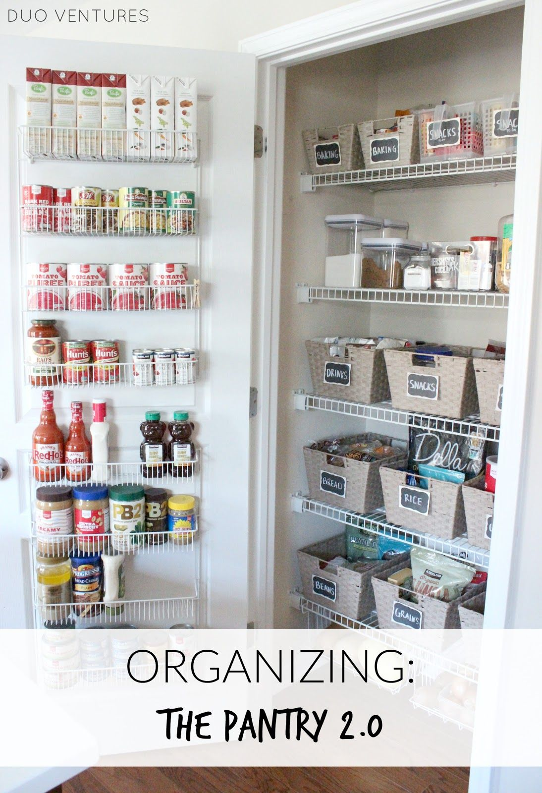 As you may know, we have taken on the task of purging & organizing every room & closet in our house.  Yes, every space (go big or go home...