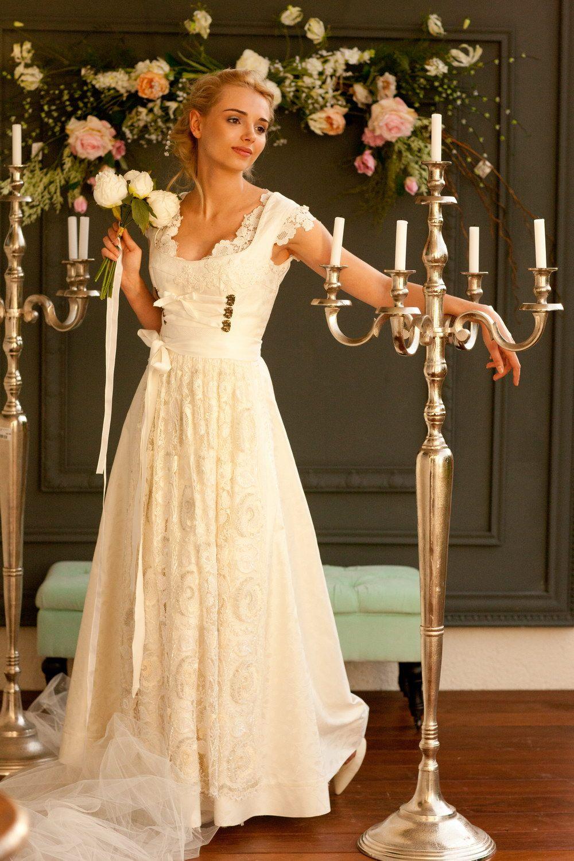 16. Hochzeitsdirndl Anemone  S♥  Dirndl wedding dress, German